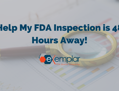 Help My FDA Inspection is 48 Hours Away!