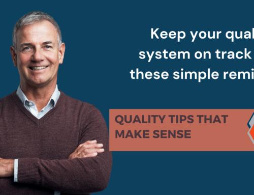 Quality Tips That Make Sense